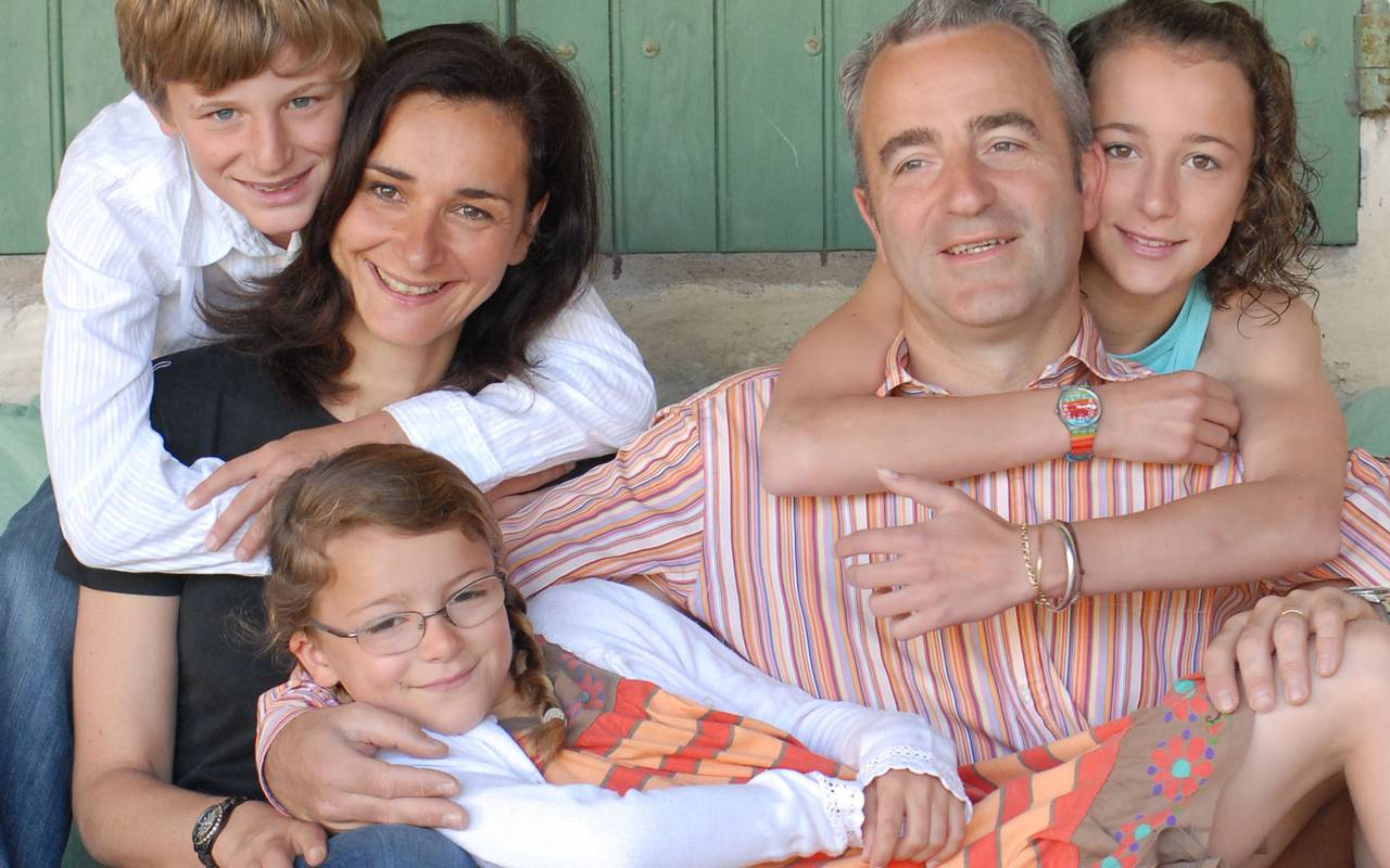 family picture owners domaine des clos